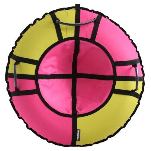 Тюбинг Hubster Хайп 120 см желтый/розовый тюбинг hubster хайп красный голубой 100 см