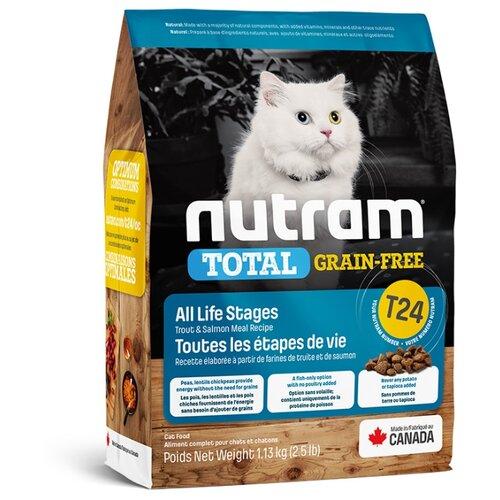 Корм для кошек Nutram беззерновой, с лососем, с форелью 1.13 кг