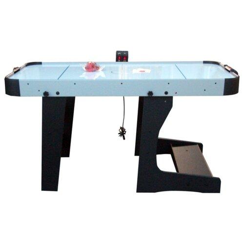 Игровой стол для аэрохоккея DFC Bastia 5 HM-AT-60301 черный/голубой