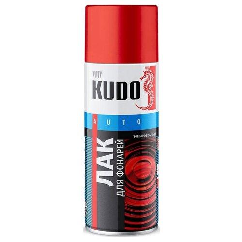 Аэрозольный автомобильный лак KUDO KU-9022 для фонарей 520 мл