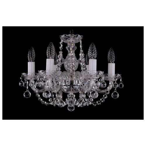 Люстра Bohemia Ivele Crystal 1406 1406/6/141/Ni/Balls, E14, 240 Вт фото