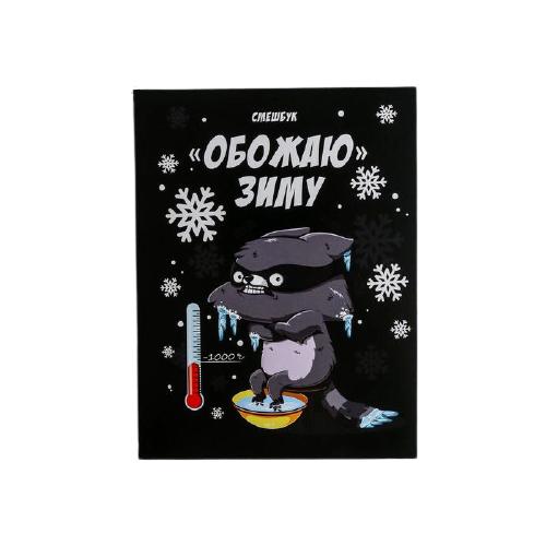 Смэшбук ArtFox Обожаю зиму А5, 80 листов (5138964), Блокноты  - купить со скидкой