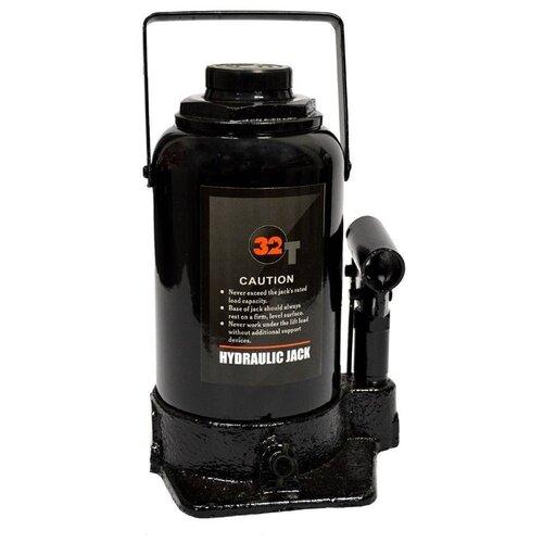 Домкрат бутылочный гидравлический WIEDERKRAFT WDK-81320 (32 т) черный набор wiederkraft wdk 65118