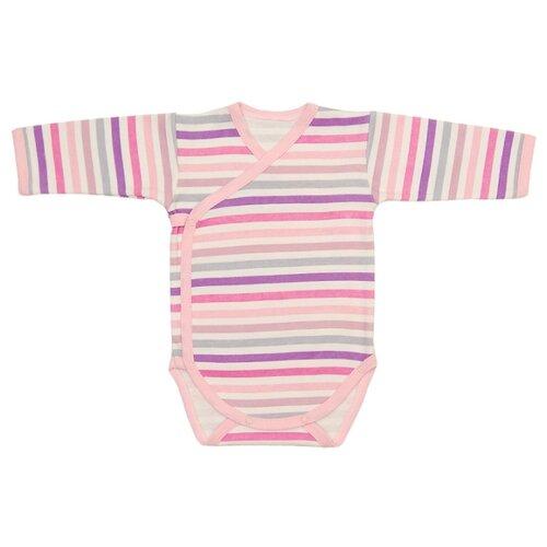 Купить Боди Чудесные одежки размер 68, розовый/фиолетовый