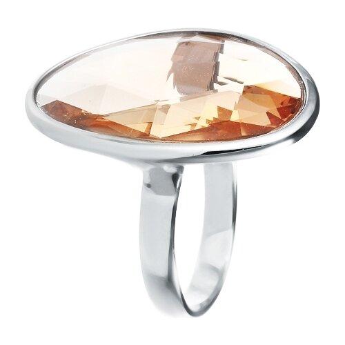 JV Кольцо с стеклом из серебра B3714-US-003-WG, размер 17 jv кольцо с ювелирным стеклом из серебра b3198 us 011 wg размер 17 5