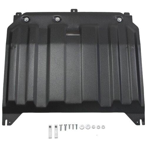 Защита картера двигателя и коробки передач RIVAL 111.2836.1 для Hyundai, Kia защита картера двигателя и коробки передач rival 333 2375 1 для hyundai kia