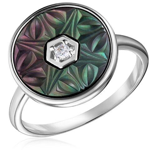 Бронницкий Ювелир Кольцо из серебра S85615056, размер 17 бронницкий ювелир кольцо из серебра s85610001 размер 17 5