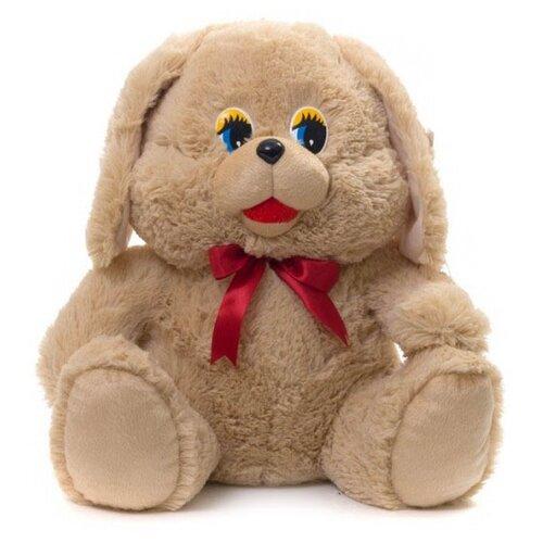 Мягкая игрушка Нижегородская игрушка Собачка коричневая 40 см мягкая игрушка нижегородская игрушка зоопарк с бантиком медведь 40 см