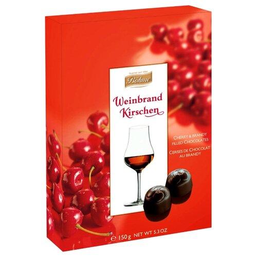 Набор конфет Bohme Шоколадные конфеты Weinbrand Kirschen