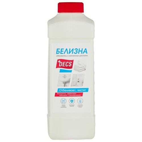 DECS Концентрированный отбеливающий гель Белизна, 1 л