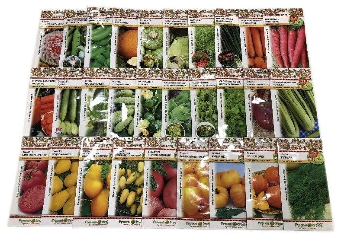 семена овощей и цветов фото потом