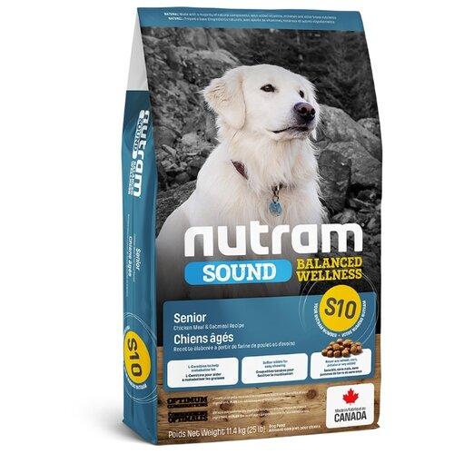 Корм для собак Nutram (11.4 кг) S10 Для пожилых собак