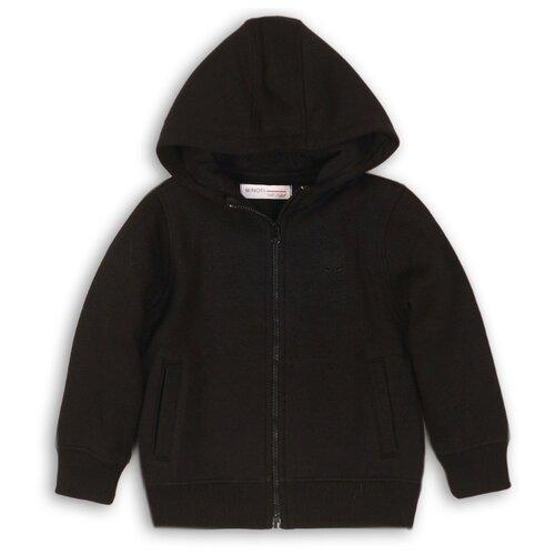 Толстовка Minoti размер 9-10 л, черный платье minoti размер 9 10 л черный