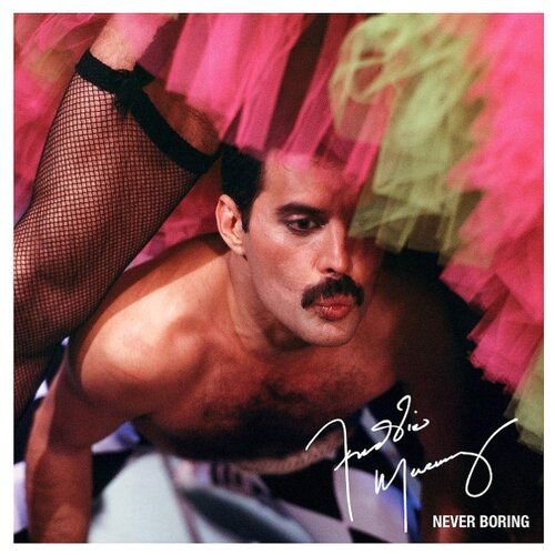 Freddie Mercury. Never Boring (LP) freddie mercury freddie mercury mr bad guy