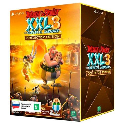 Игра для PlayStation 4 Asterix and Obelix XXL 3: The Crystal Menhir. Коллекционное издание