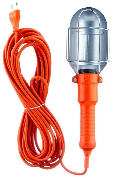 Переносной светильник IEK УП-1Р, 60 Вт, шнур 10 м