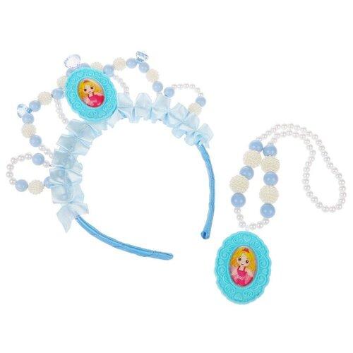 Набор украшений Zi Dong Lovely Princess голубой princess snap