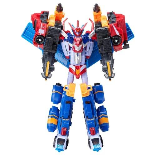 Купить Трансформер YOUNG TOYS Tobot Mini Master V Ultimate 301102 голубой/красный/белый, Роботы и трансформеры