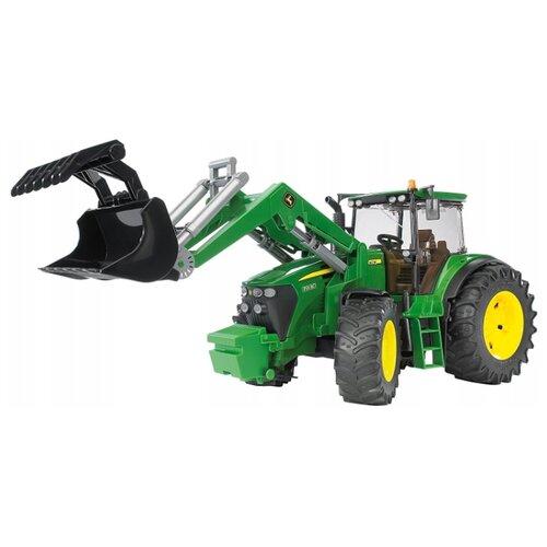 Трактор Bruder John Deere 7930 (03-051) 1:16 44 см зеленый трактор bruder john deere 6920