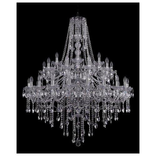 Фото - Люстра Bohemia Ivele Crystal 1415 1415/20+10+5/400/2d/Ni, E14, 1400 Вт люстра bohemia ivele crystal 1415 1415 20 10 5 400 xl 180 3d g e14 1400 вт