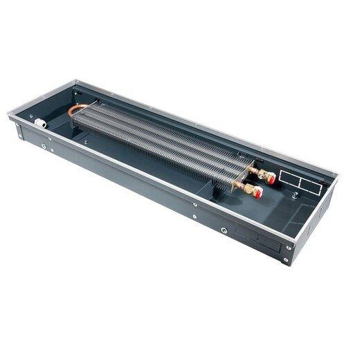 Водяной конвектор Techno Usual KVZ 200-65-600 черный внутрипольный конвектор techno usual kvz 200 65 2400 без решетки