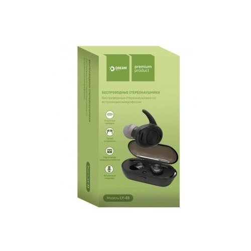Купить Беспроводные наушники Dream LY-03 black