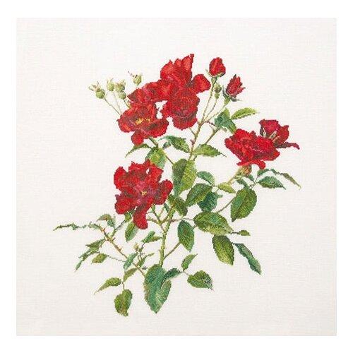 Купить Набор для вышивания Пылкий Цветок, канва лён 36 ct, Thea Gouverneur, Наборы для вышивания