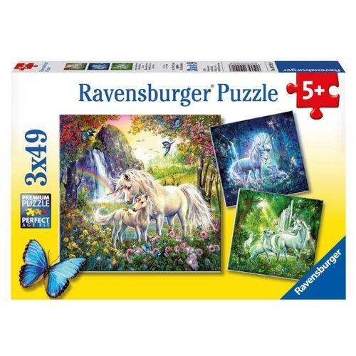 Купить Набор пазлов Ravensburger Единороги (09291), Пазлы