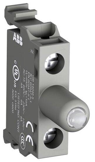 Светосигнальный блок с ламподержателем для устройств управления и сигнализации ABB 1SFA611621R2063