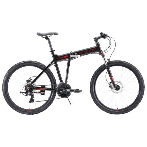 цена на Горный (MTB) велосипед STARK Cobra 26.2 HD (2020) черный/красный 18 (требует финальной сборки)