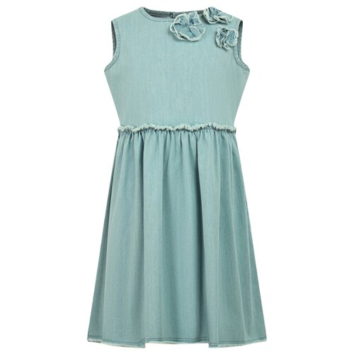 Платье Il Gufo размер 110, голубой
