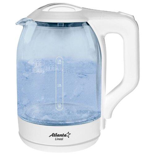 Чайник Atlanta ATH-2466, белый чайник atlanta ath 2461 белый