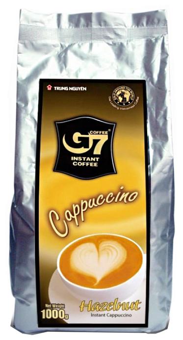 Растворимый кофе Trung Nguyen G7 Cappuccino Hazelnut — купить по выгодной цене на Яндекс.Маркете