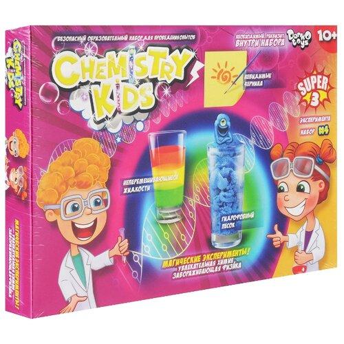 Купить Набор Danko Toys Chemistry Kids Магические эксперименты Набор 4, 3 опыта, Наборы для исследований
