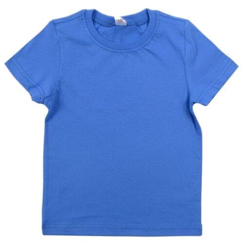 Купить Футболка Optop размер 140, ярко-голубой, Футболки и майки