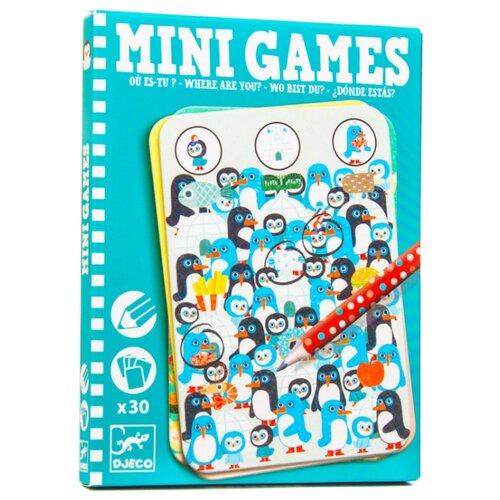 Купить Настольная игра DJECO Mini Games Где ты?, Настольные игры