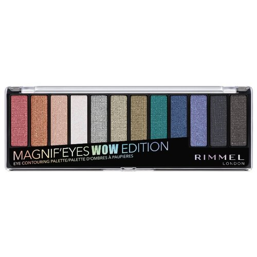 Rimmel Палетка теней Magnif`eyes Wow тон 006 rimmel палетка теней magnif eyes crimson тон 007