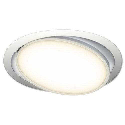 Встраиваемый светильник Donolux DL18813/9W White R встраиваемый светильник donolux dl132g shampagne gold