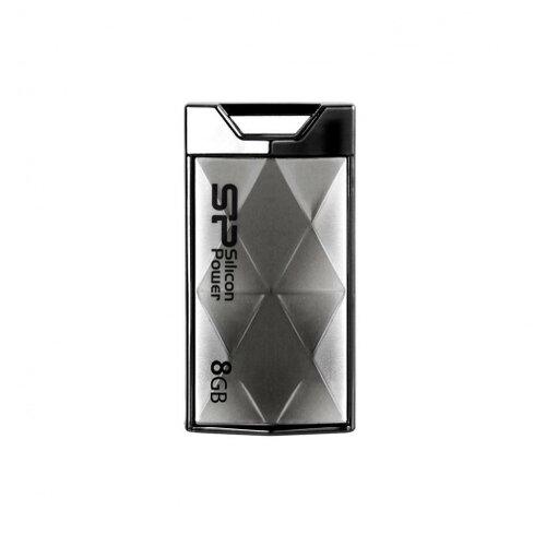 Флешка Silicon Power Touch 850 8 GB, титановый