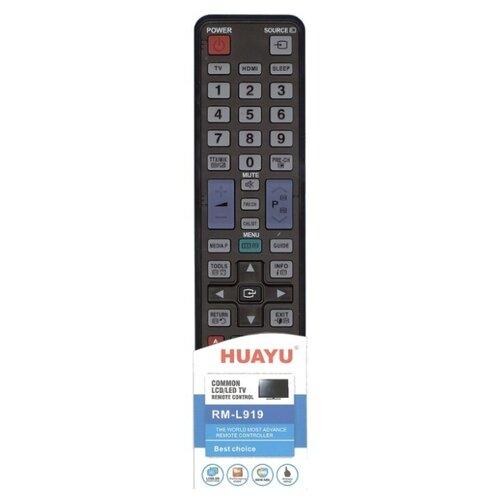 Фото - Пульт ДУ Huayu RM-L919 для LCD/LED TV Samsung черный пульт ду huayu rm l919 для lcd led tv samsung черный