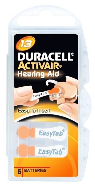 Батарейка Duracell ActiveAir 13/PR48
