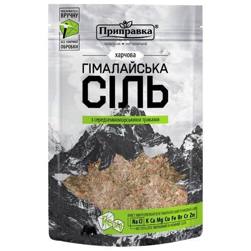 Приправка Гималайская розовая соль со средиземноморскими травами, 200 г, 200 г сахар приправка с корицей 200 г
