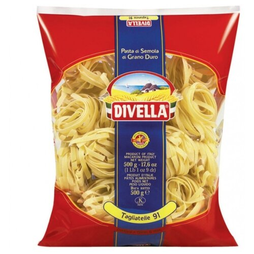 Divella Макароны Tagliatte 91, 500 г