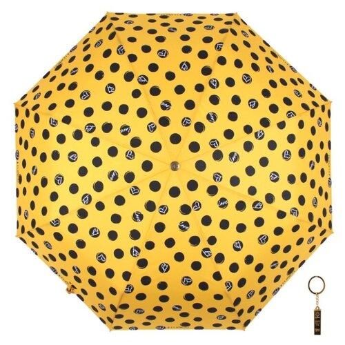 Зонт автомат FLIORAJ Premium Золотой брелок Горох желтый горох мистраль желтый колотый 900г