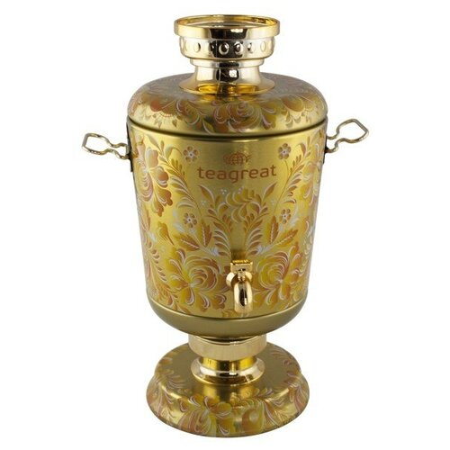 Чай черный Dolche Vita самовар Золотой Екатерина Великая, подарочный набор, 75 г