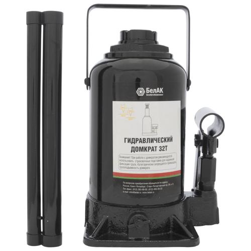 Домкрат бутылочный гидравлический БелАвтоКомплект БАК.00050 (32 т) черный домкрат бутылочный гидравлический белавтокомплект бак 10039 2 т черный