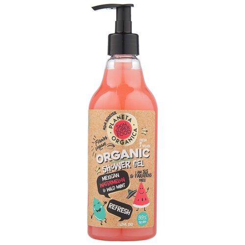 Гель для душа Planeta Organica Skin super food Refresh, 500 мл