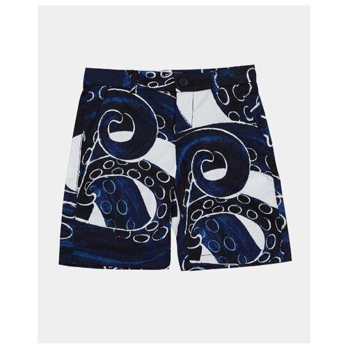 Бермуды Gulliver размер 128, синий пиджак gulliver размер 128 синий