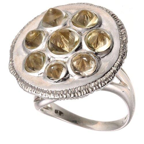 JV Кольцо с кварцами из серебра 30-014-510-009-LQZ-WG, размер 17 кпр 009 фреска картина из песка современный автомобиль200 230 40