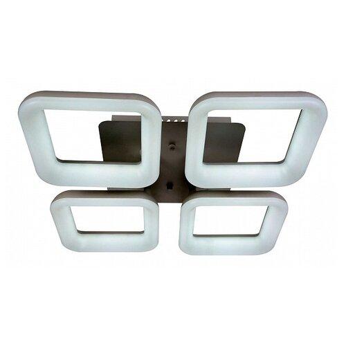 Фото - Люстра светодиодная Stilfort Cube 2086/01/04C, LED, 48 Вт светодиодная stilfort oliver 2073 03 04c led 48 вт